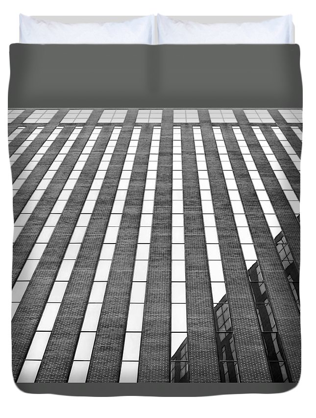 Stripes Duvet Cover featuring the photograph Stripes by Nikolyn McDonald