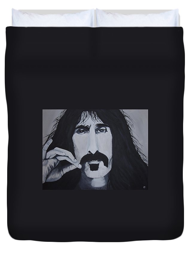 Suave Duvet Cover featuring the painting Suave 40-93 by Dean Stephens