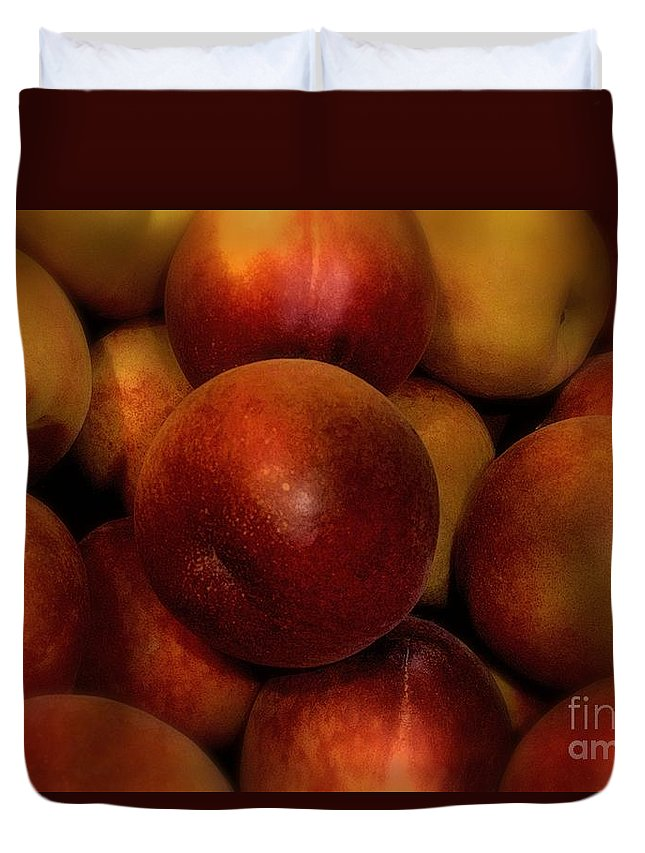 Fruit Duvet Cover featuring the photograph Succulent Sunshine by RC DeWinter