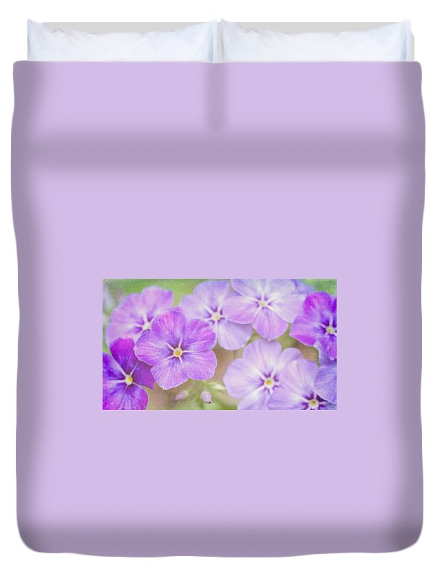 Plant Duvet Cover featuring the photograph Summer's Love by Heidi Smith