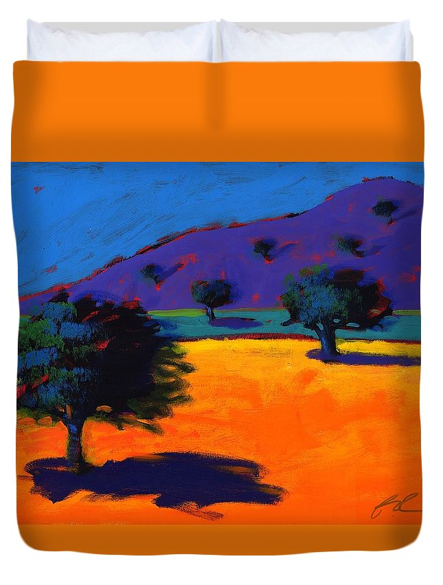 Summer Duvet Cover featuring the photograph Summertime by Paul Powis