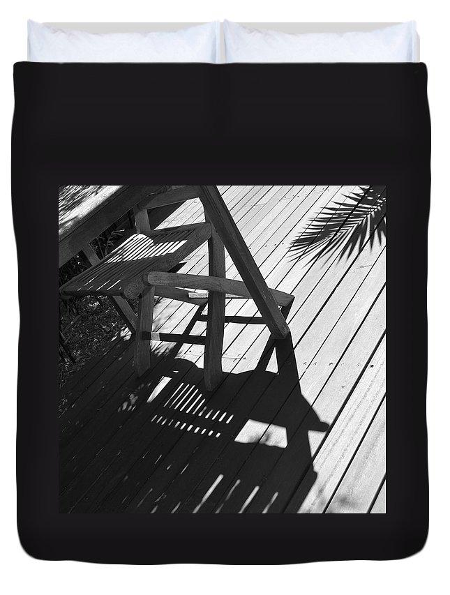 Austalia Duvet Cover featuring the photograph Summertime Shadows by Cheryl Miller