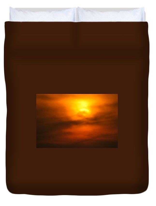 Africa Duvet Cover featuring the photograph Sun Mood by Alistair Lyne