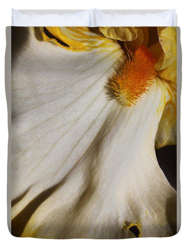 Iris Duvet Cover featuring the photograph Sunrise Elegy I by Kirk Ellison