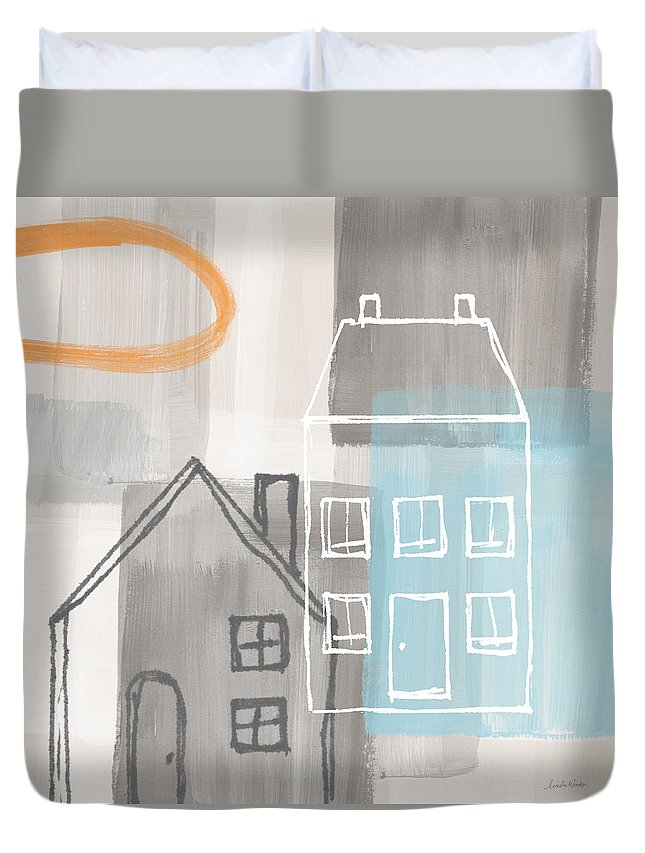 Commercial Building Duvet Covers
