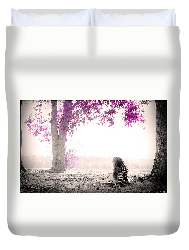 Sweet Imagination Duvet Cover featuring the photograph Sweet Imagination by Southern Tradition