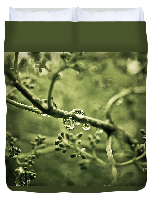 Duvet Cover featuring the photograph Swirly by Shane Holsclaw