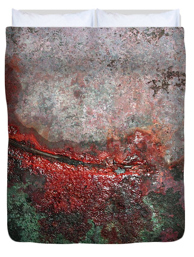 Abstract Duvet Cover featuring the photograph Swoop by James W Johnson