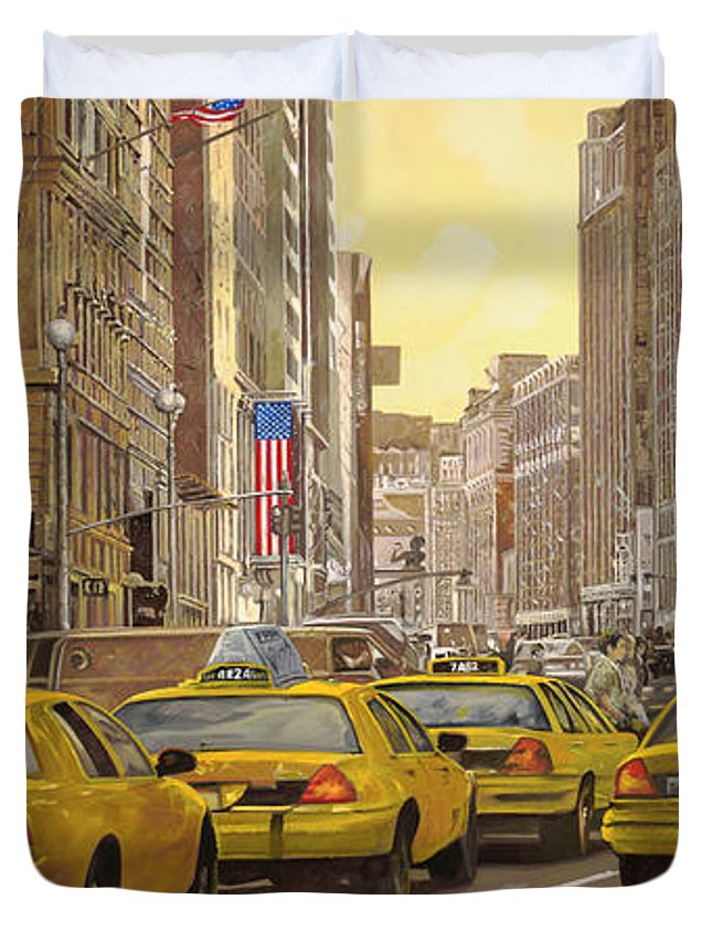 New York City Taxi Duvet Covers