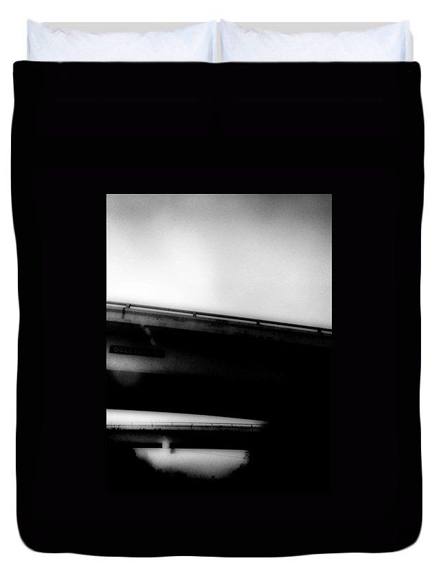 Bridge Duvet Cover featuring the photograph Tennessee Bridge by H James Hoff