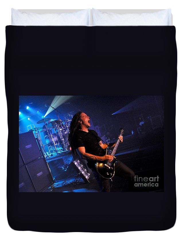 Tfk Duvet Cover featuring the photograph Tfk-steve-ty-3392 by Gary Gingrich Galleries