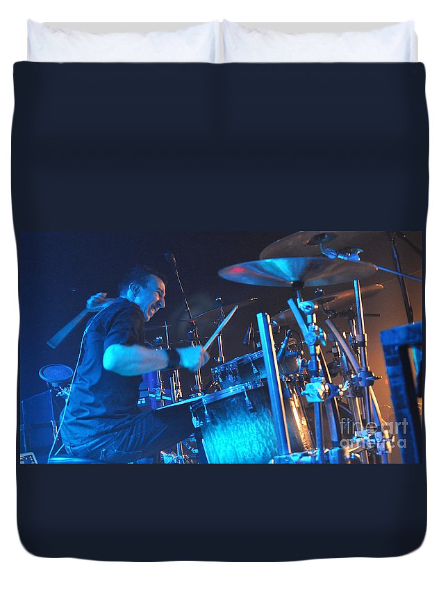 Tfk Duvet Cover featuring the photograph Tfk-steve3837 by Gary Gingrich Galleries