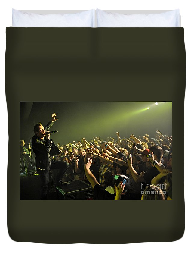 Tfk Duvet Cover featuring the photograph Tfk-trevor-2821 by Gary Gingrich Galleries
