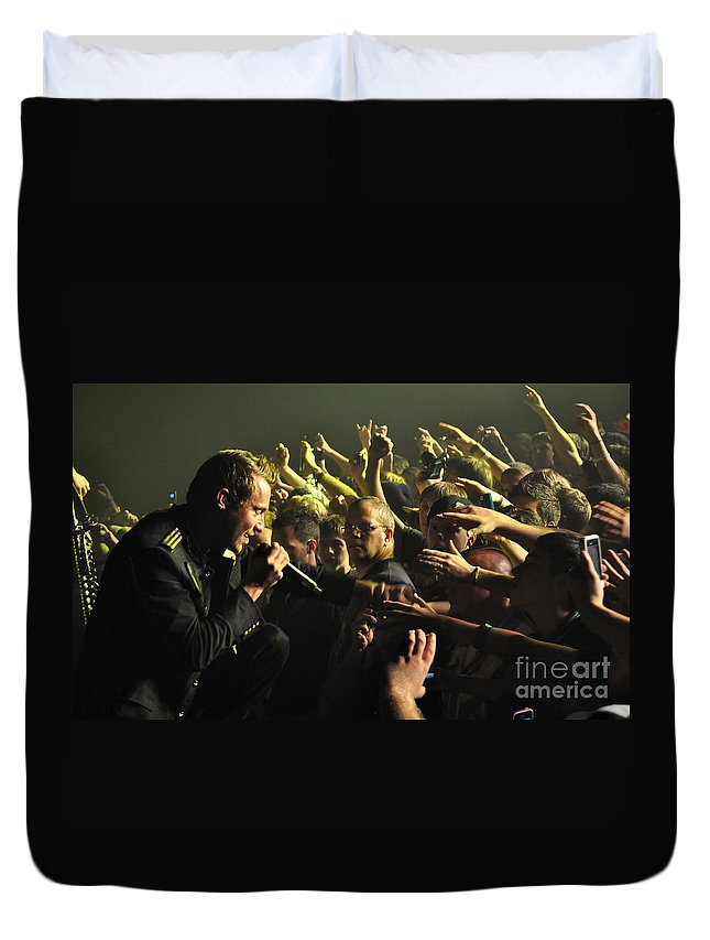 Tfk Duvet Cover featuring the photograph Tfk-trevor-2847 by Gary Gingrich Galleries