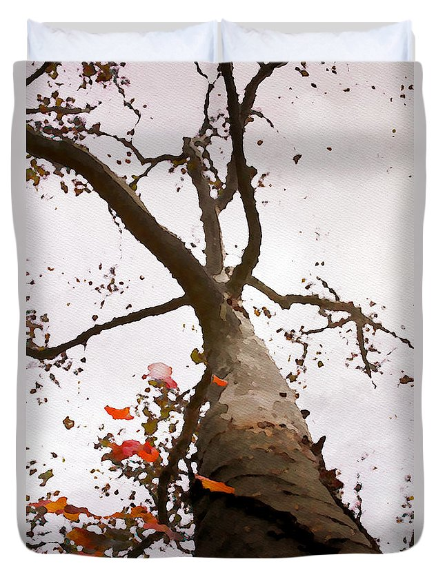 Tree Duvet Cover featuring the photograph That Tree by Alice Gipson