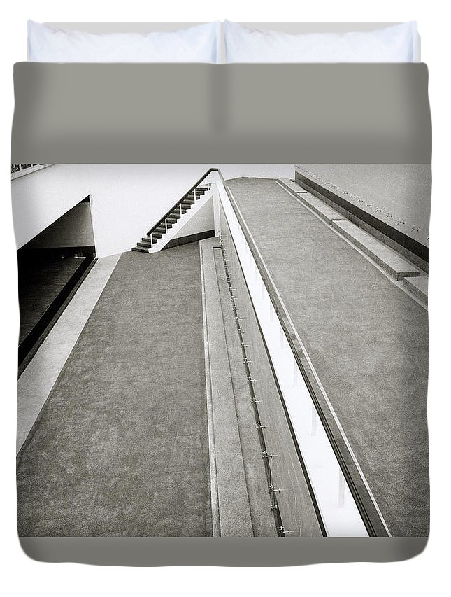 Asia Duvet Cover featuring the photograph The Ablution Area by Shaun Higson