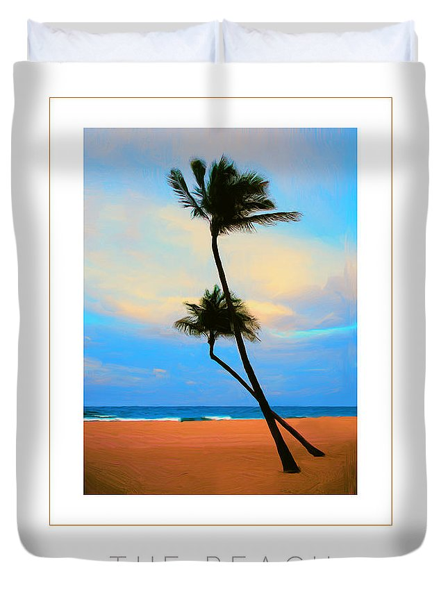 Beach Duvet Cover featuring the photograph The Beach Poster by Mike Nellums