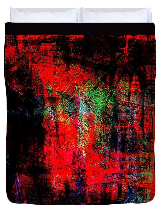 Brandon Lynch Duvet Cover featuring the digital art The City 30a by Brandon Lynch