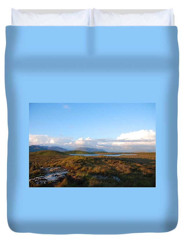 Landscape Duvet Cover featuring the photograph The Connemara by Charlie and Norma Brock
