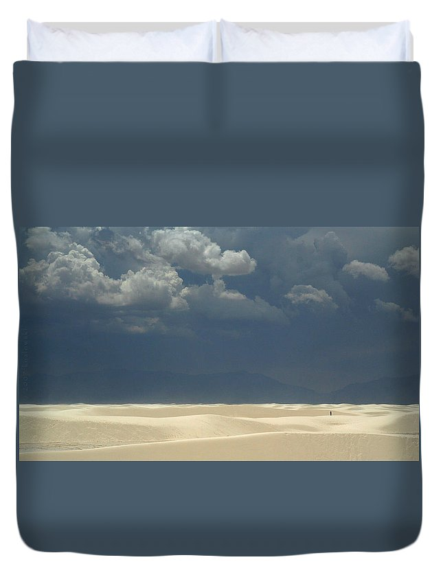 Biblical Duvet Cover featuring the photograph The Expulsion by Joe Kozlowski