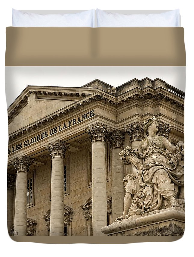 Versailles Duvet Cover featuring the photograph The Glory Of France by Hany J