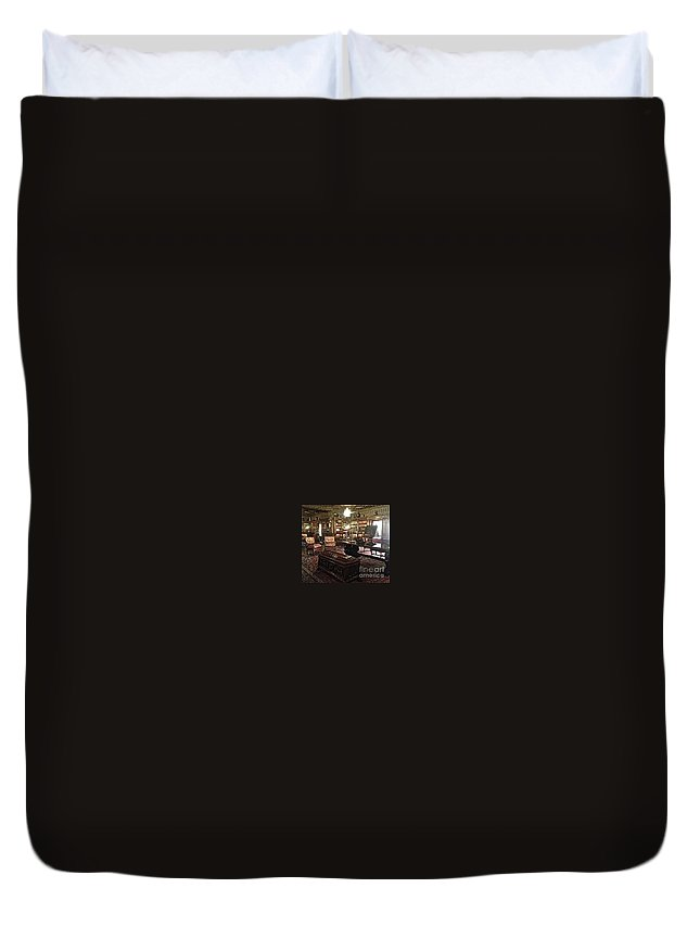 Hearst Duvet Cover featuring the photograph The Hearst Castle In San Simeon by Christy Gendalia