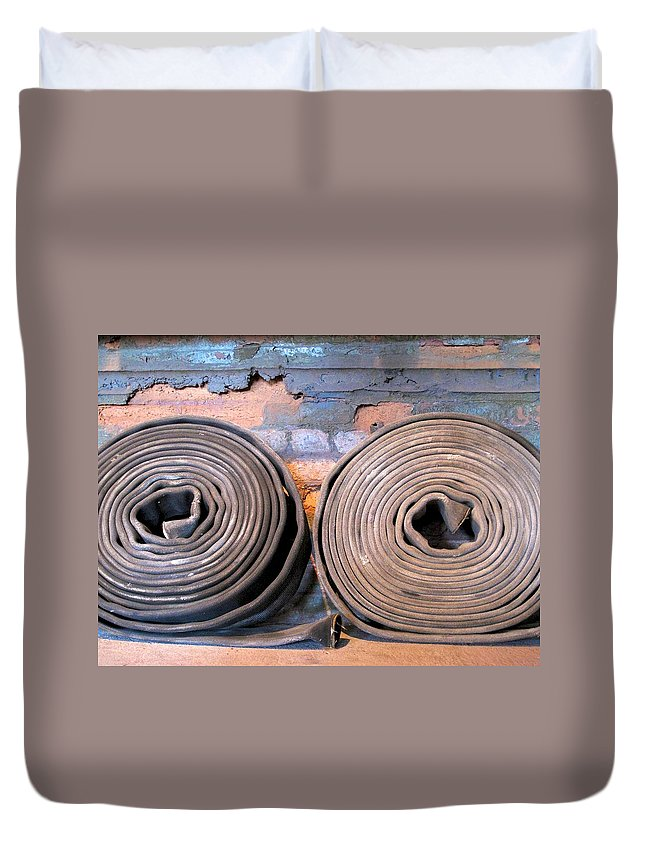 Tampa Duvet Cover featuring the photograph The Heights 10 by David Beebe