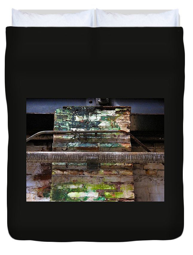 Tampa Duvet Cover featuring the photograph The Heights 4 by David Beebe