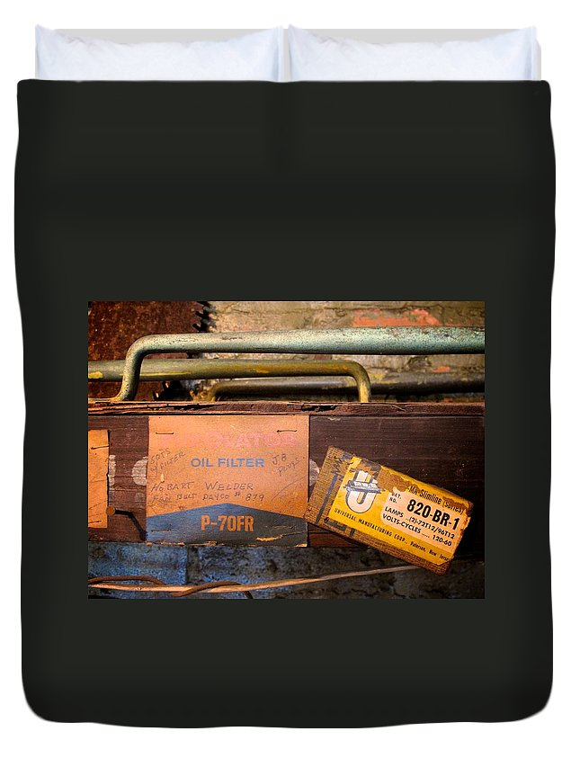 Tampa Duvet Cover featuring the photograph The Heights 8 by David Beebe