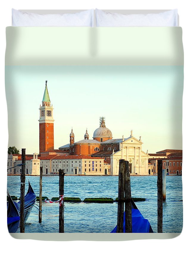 Laguna Duvet Cover featuring the photograph The Laguna by Valentino Visentini