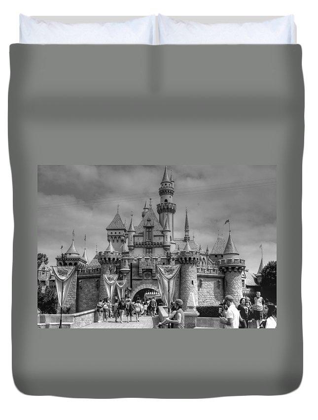 Disney Duvet Cover featuring the photograph The Magic Kingdom by Bill Hamilton