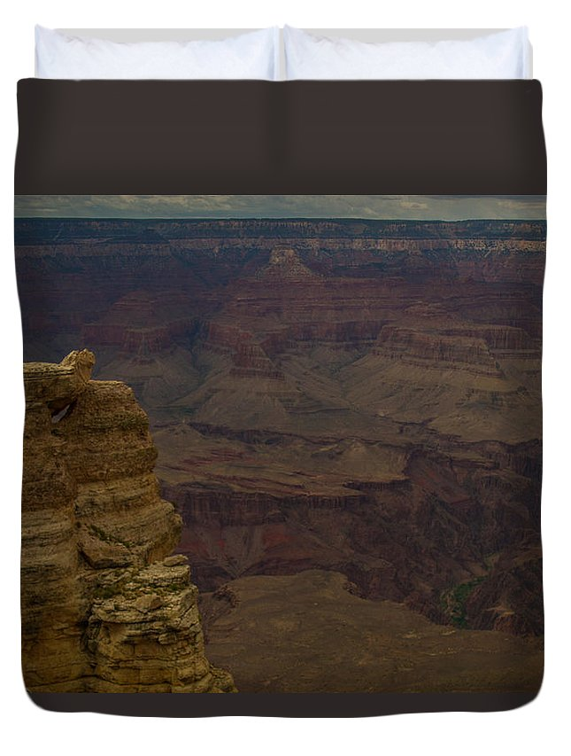 Grand Canyon Duvet Cover featuring the photograph The Many Colors Of The Grand Canyon by Kathleen Odenthal