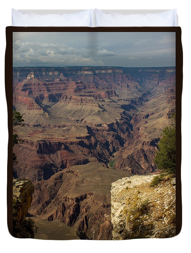 Grand Canyon Duvet Cover featuring the photograph The Nooks And Cranies Of The Grand Canyon by Kathleen Odenthal