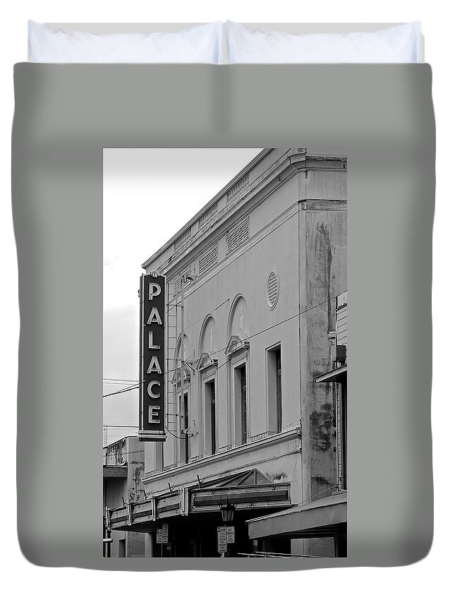 The Palace Duvet Cover featuring the photograph The Palace by Kimberly Reeves