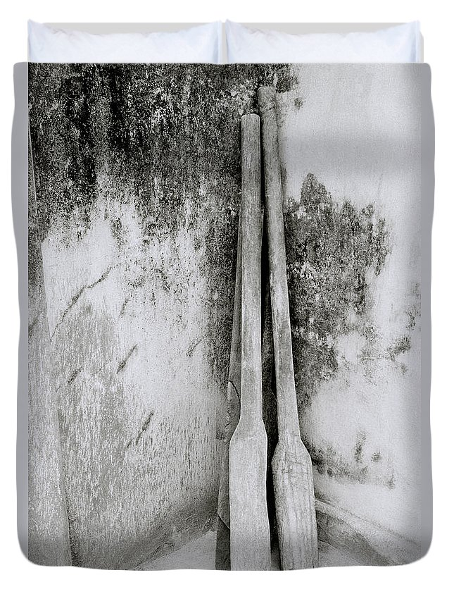 Simplicity Duvet Cover featuring the photograph The Spice Pestle by Shaun Higson
