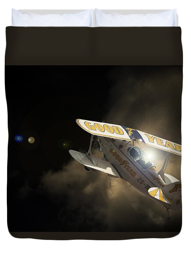 Pitts Special Duvet Cover featuring the photograph The Pitts by Paul Job