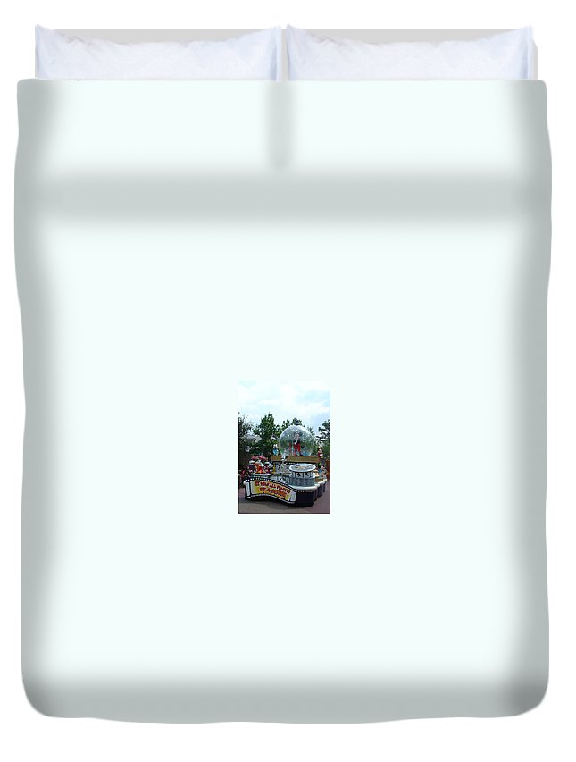 Dreams Come True Parade Duvet Cover featuring the photograph The Rest Is Magic by David Nicholls