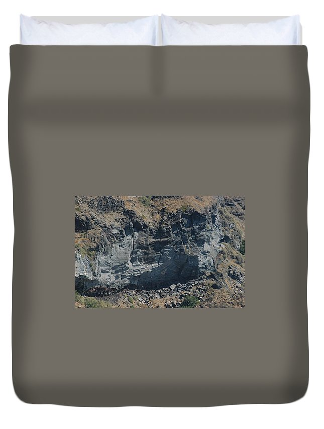 Cable Car Duvet Cover featuring the photograph The Route Down by Joseph Yarbrough