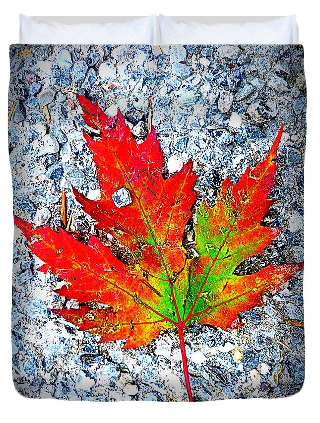 Spirit Duvet Cover featuring the photograph The Spirit Of Autumn by The Creative Minds Art and Photography