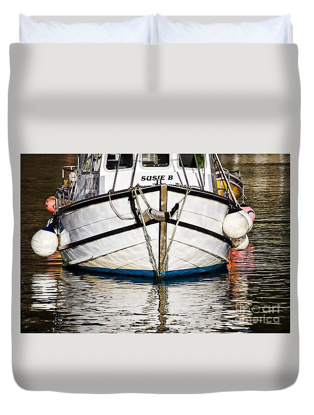 Susie B Duvet Cover featuring the photograph The Susie B by Susie Peek