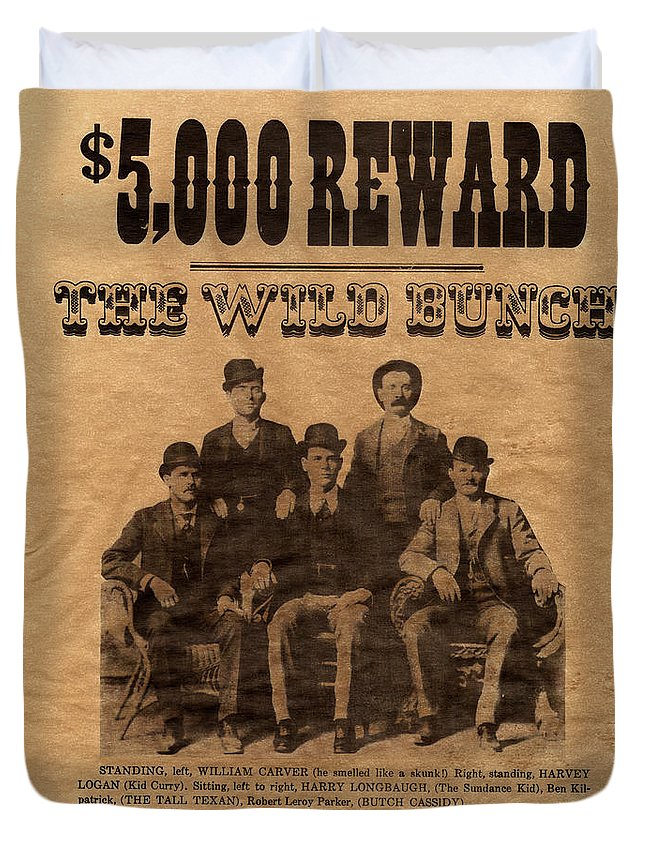 The Wild Bunch Duvet Cover featuring the photograph The Wild Bunch by Paul W Faust - Impressions of Light