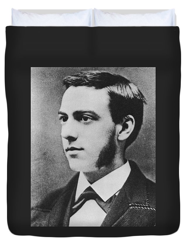 1874 Duvet Cover featuring the photograph Thomas Augustus Watson (1854-1934) by Granger