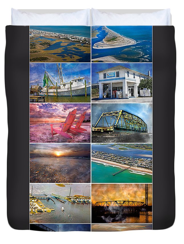 Topsial Duvet Cover featuring the photograph Topsail Glory by Betsy Knapp