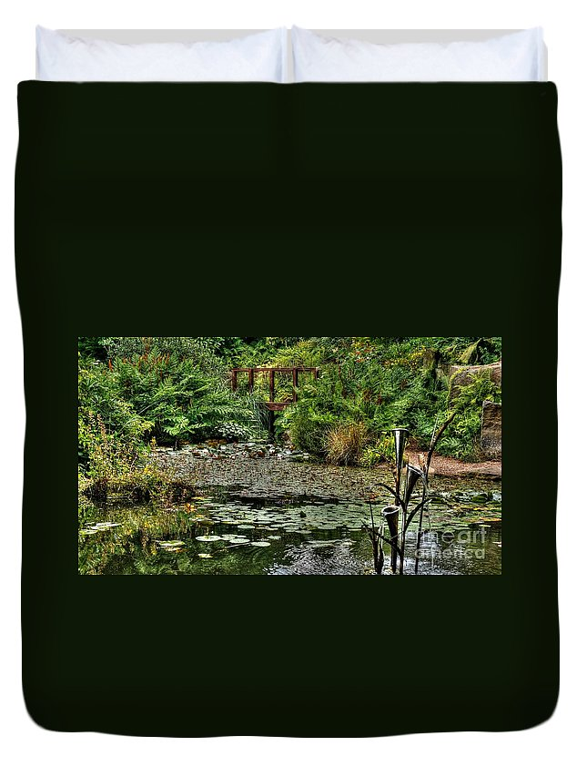 Birmingham Duvet Cover featuring the photograph Tranquil by Mickey At Rawshutterbug