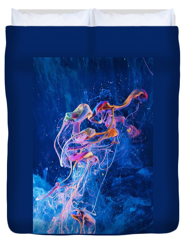 Abstract Duvet Cover featuring the photograph Transcendence - Abstract Art Photography by Modern Art Prints