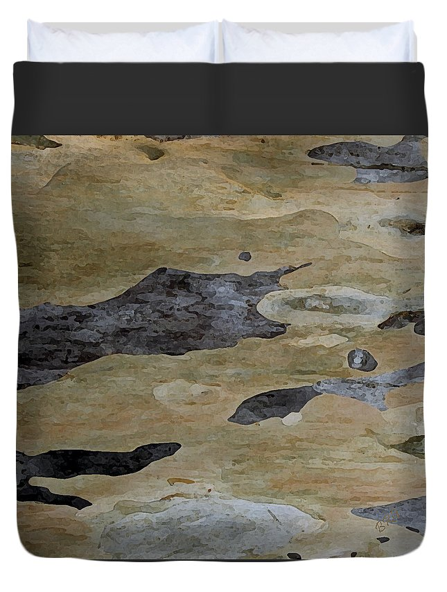 Eucalyptus Duvet Cover featuring the photograph Tree Bark I by Ben and Raisa Gertsberg