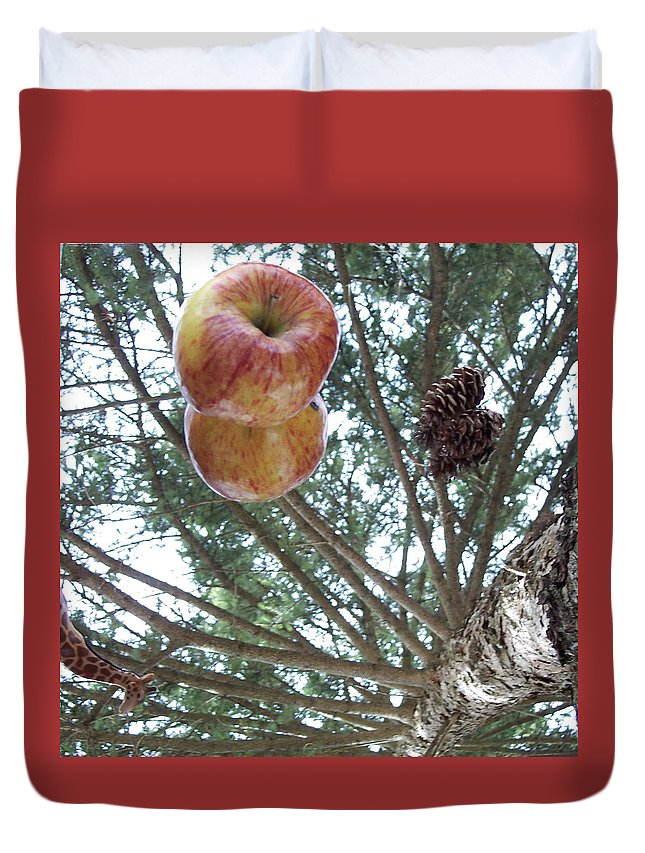 Tree Duvet Cover featuring the photograph Tree Spiral by Michelle Miron-Rebbe