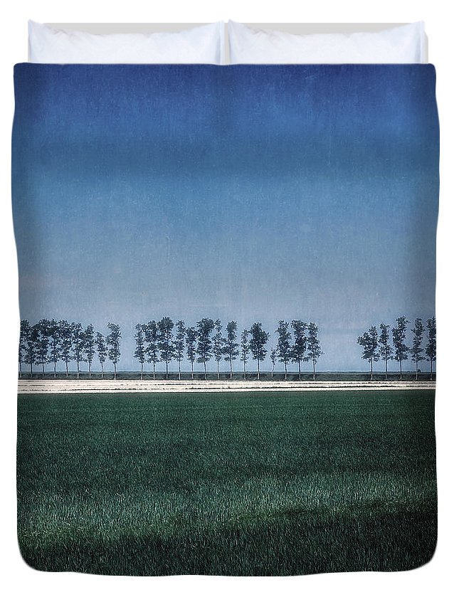 Tree Duvet Cover featuring the photograph Trees by Joana Kruse