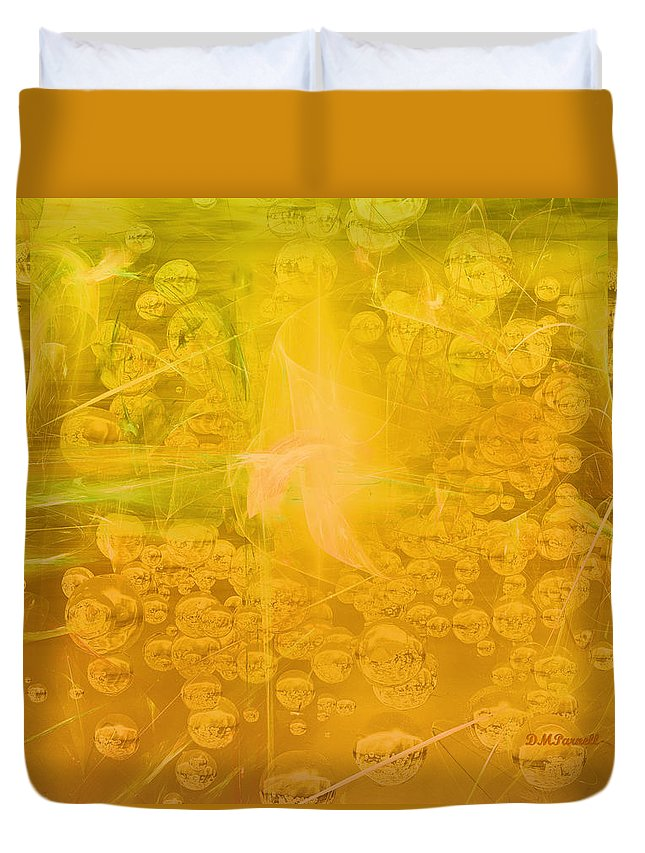Mountain Dew Duvet Cover featuring the digital art Tribute To Dew by Diane Parnell
