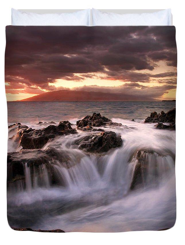 Maui Sunset Photographs Duvet Covers